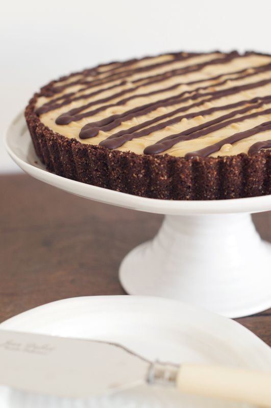 A Delicious Recipe With Step By Step Photos For A No Bake Chocolate Peanut Butter Cheeseca Chocolate Peanut Butter Cheesecake Peanut Butter Recipes Sweet Tarts