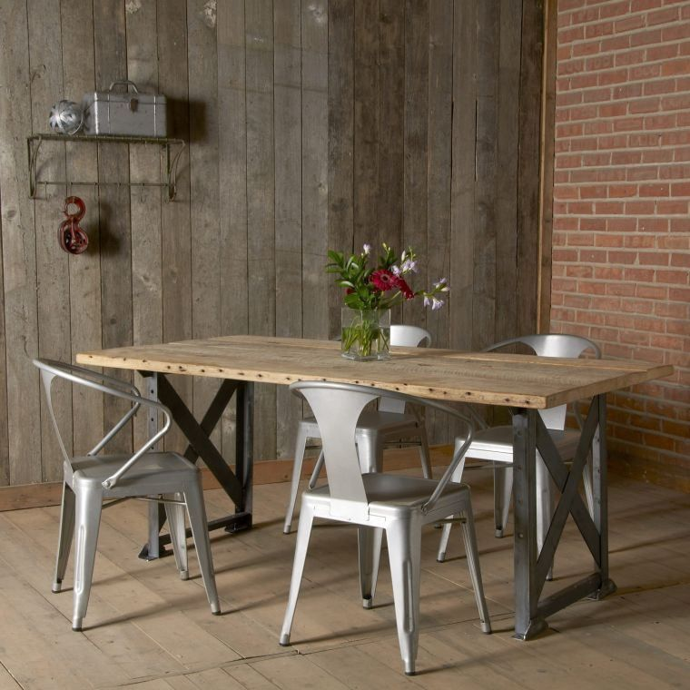 The Wooden Picnic Table Conquers Our Interiors Industrial Dining Table Dining Room Table Reclaimed Wood Dining