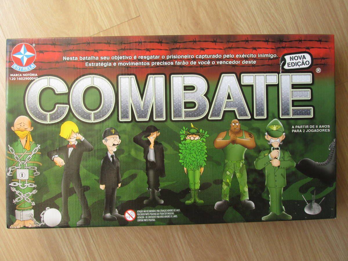 Jogo Combate Jogo De Tabuleiro Estrela Usado 13363272 Enjoei Jogos De Tabuleiro Jogos Tabuleiro