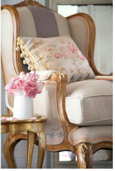 Gorgeous Wingback Chair! French Dream two French country cottage
