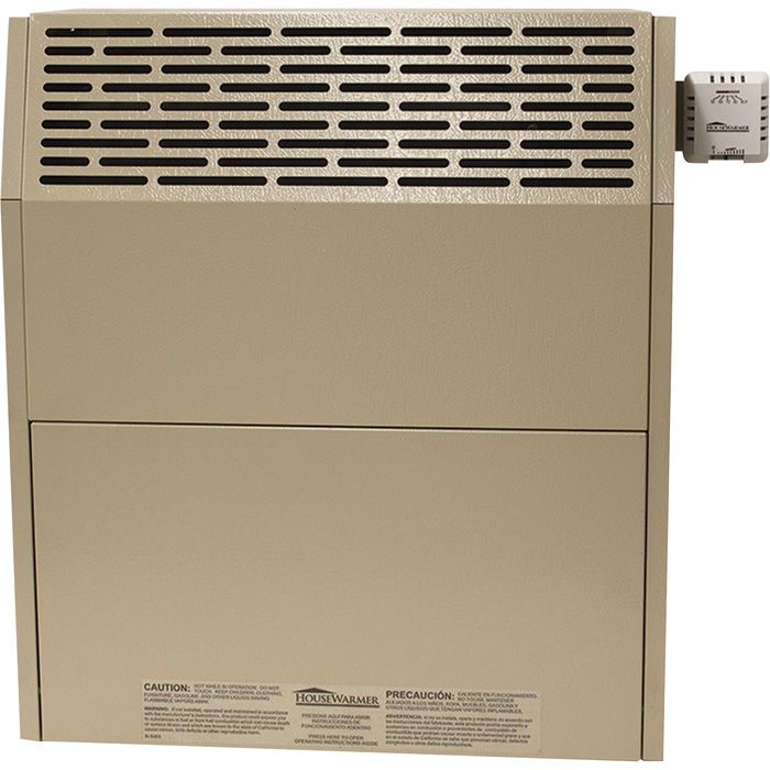 HouseWarmer Slim-Profile Direct Vent Heater With Blower