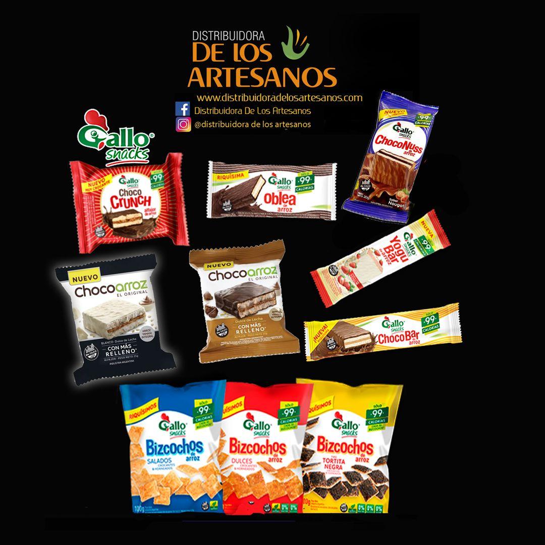 Gallos Snack Distribuidora De Los Artesanos A Todo El Pais Promociones X Mayor Snack Oblea Artesanos