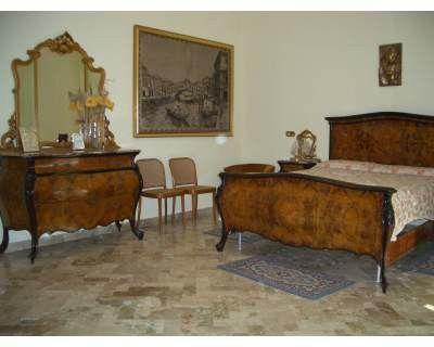Camera da letto stile barocco siciliano | Mobili antichi | Pinterest