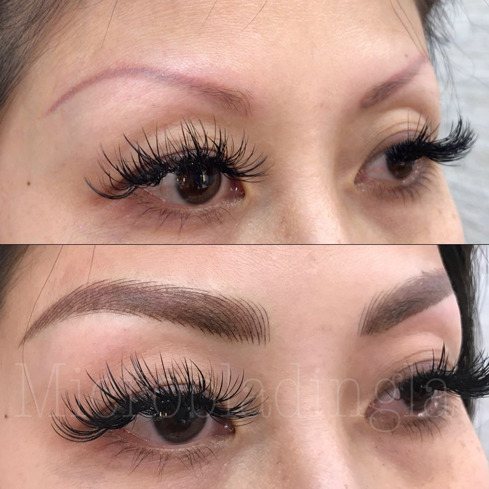 Eyebrow Tattoo Cover up Eyebrow makeup, Beauty hacks