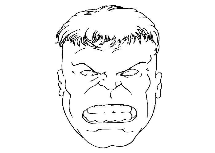 Incredible Hulk Coloring Pages Printable http://freecoloring-pages ...
