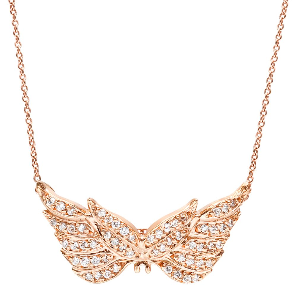 Roberto Coin 18k Pink Gold Amp Diamond Angel Wings Pendant