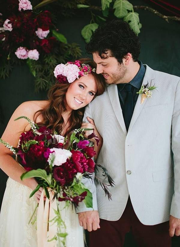 5 Summer Wedding Color Palettes to Inspire You | Berry, Summer ...