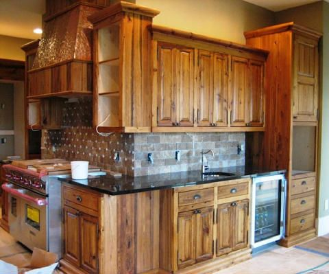 Cabinets In Cypress Wood With Hand Oil Finish ~ Custom Built By Specialty  Woodcraft (www.specialty Woodcraft.com)