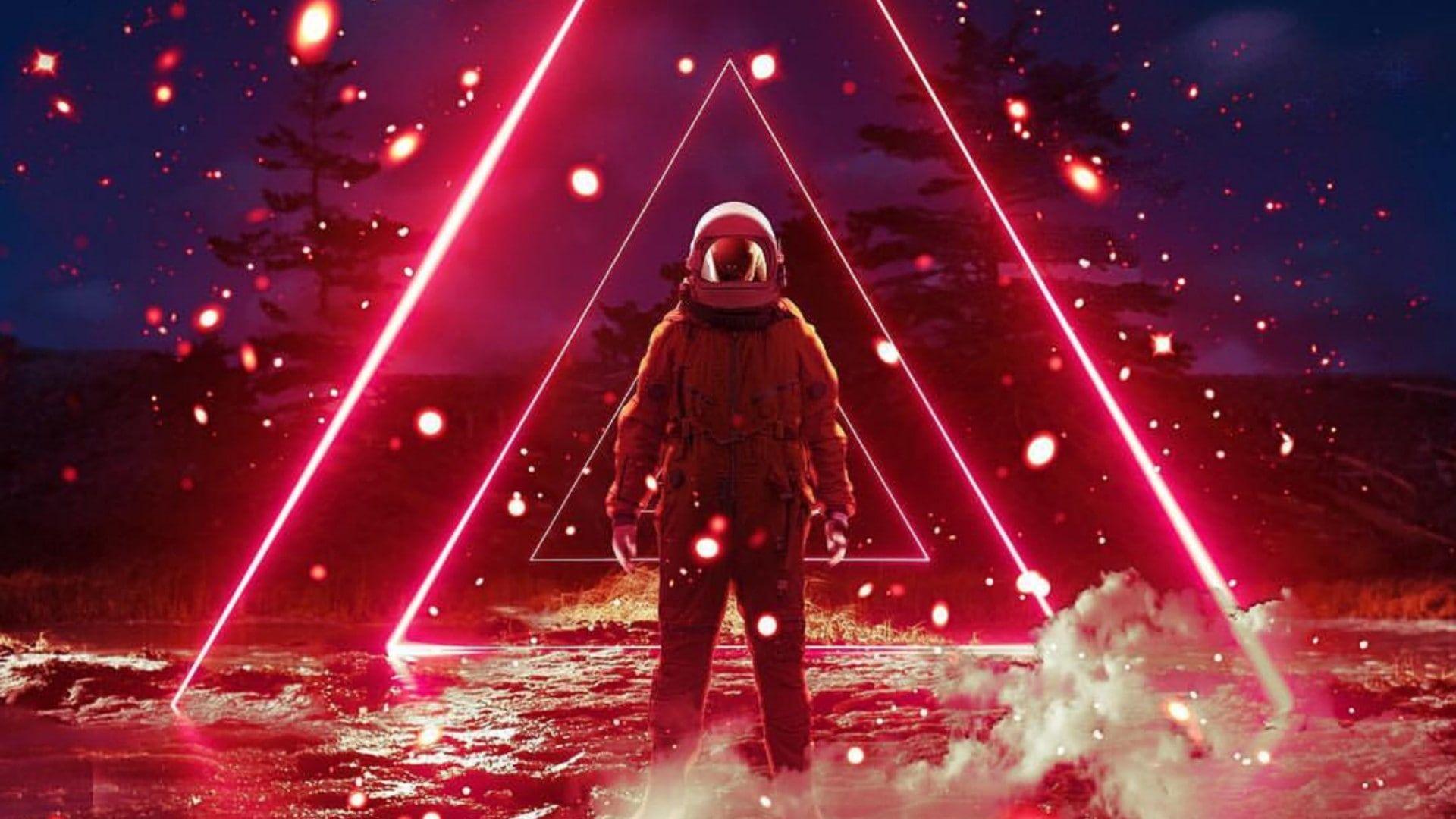 Synthwave Virtualreality Vaporwave Retrowave Astronaut Futuristic Digital Art 1080p Wallpaper Hdwallpaper Des Vaporwave Wallpaper Vaporwave Synthwave