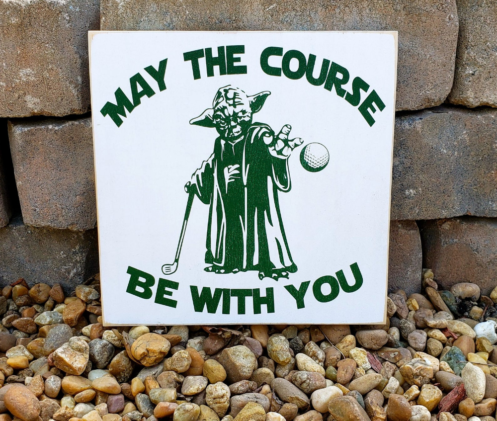 Golf Sign Star wars sign Father's Day Pub Sign Home   Etsy   Home ...