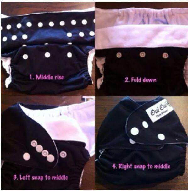 0f56f26901d7 Make a one-size diaper fit smaller babies