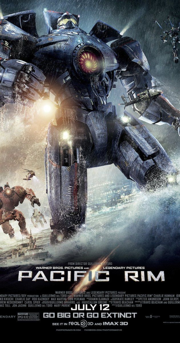 Pacific Rim 2013 Pacific Rim Movie Pacific Rim Legendary Pictures