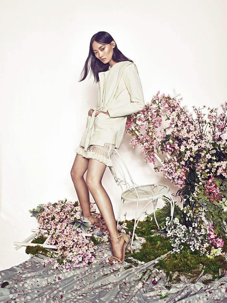 """Clean Slate"" Li Xiao Xing for C California Style Magazine March 2015"