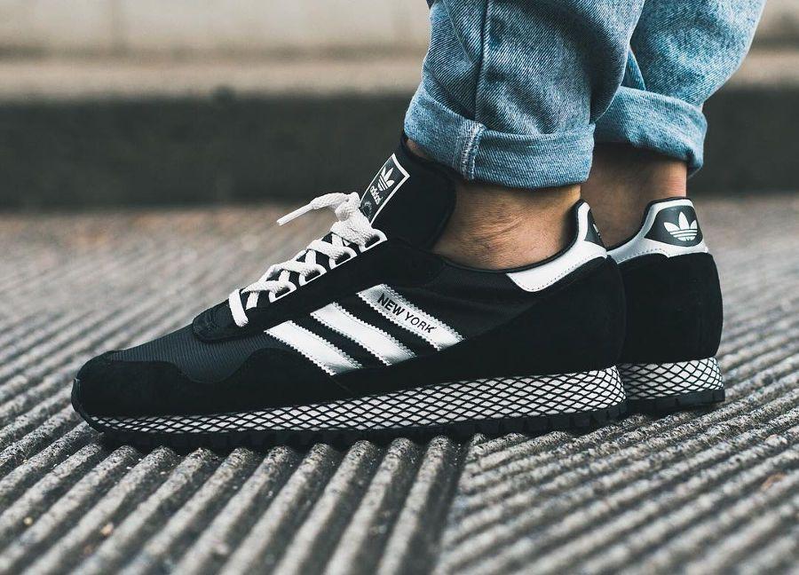 Adidas New York OG Mesh Noir 'Black Silver Metallic