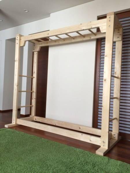 うんてい 雲梯 知育 木製 遊具 ドーマン法 屋内 新品未使用 ヤフオク