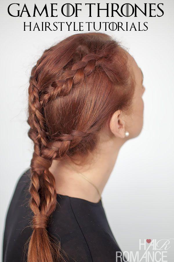 Game Of Thrones Hairstyles Khaleesi Braids Hairstyle Tutorial - Bun hairstyle games