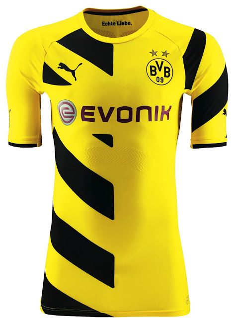 New Borussia Dortmund 14-15 Kits Released | Dortmund, Soccer ...