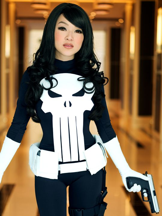 Female Punisher - me like!