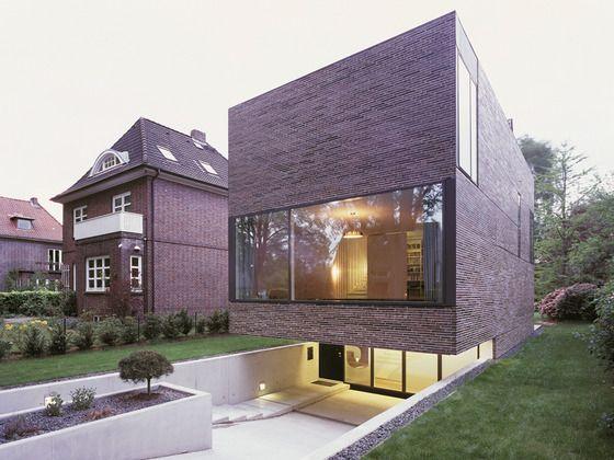 Einfamilienhaus in Hamburg Schmales haus architektur