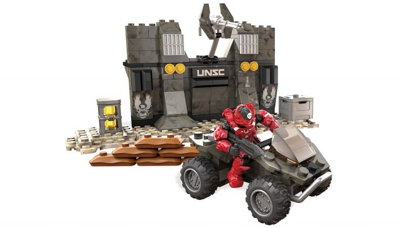 Mega Construx Halo Unsc Builders Forge Storm Troopers Army