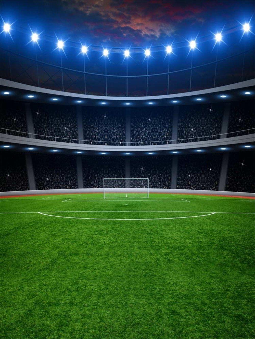 Background Sepak Bola : background, sepak, 5x7ft, Football, Field, Backgrounds, Photo, Studio, Flash, Green, Grass, Floor, Children, Photography, Backdrops, Party, Sport, Props, Lapangan, Sepak, Bola,, Gambar
