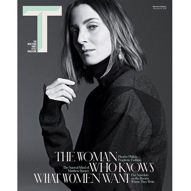The NY Times T Style Magazine Spring 2014: Phoebe Philo by Karim Sadli