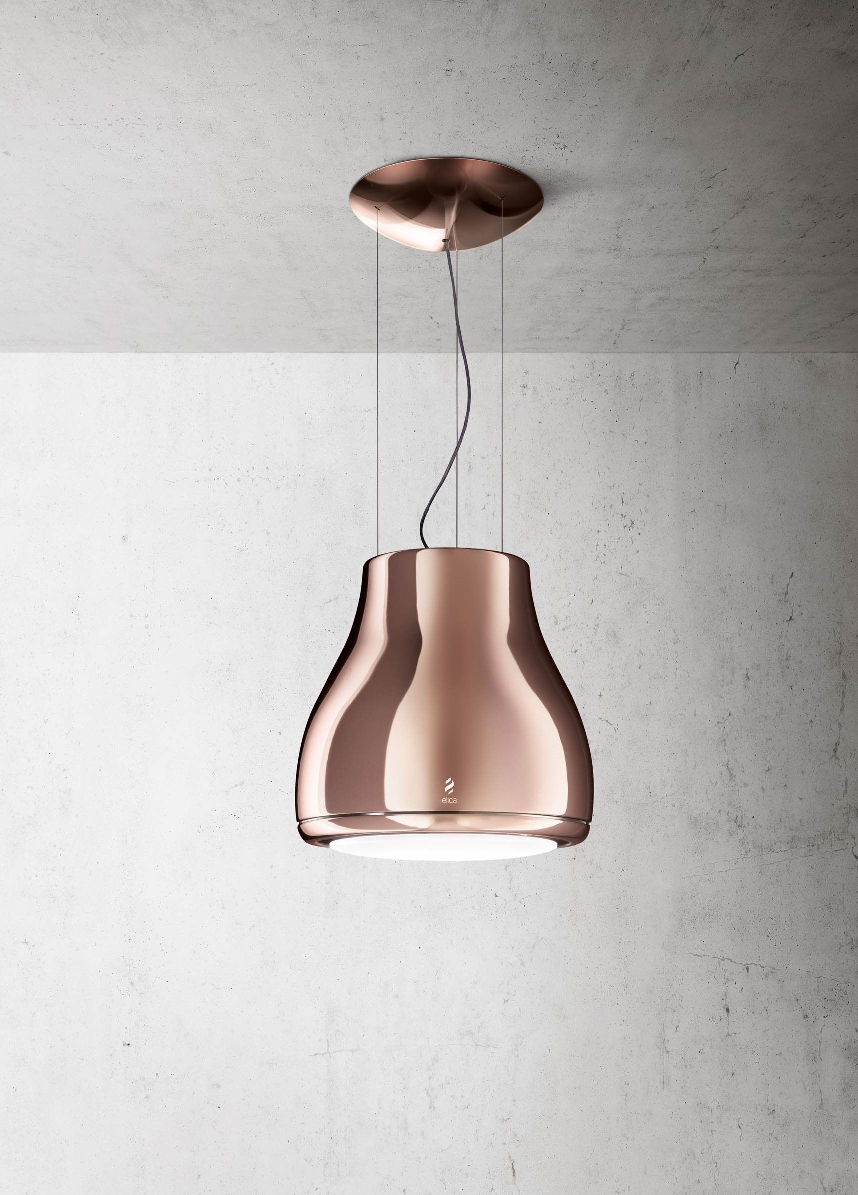 kitchen extractor fan. Copper/Rose Gold Extractor Fan By Elica Kitchen