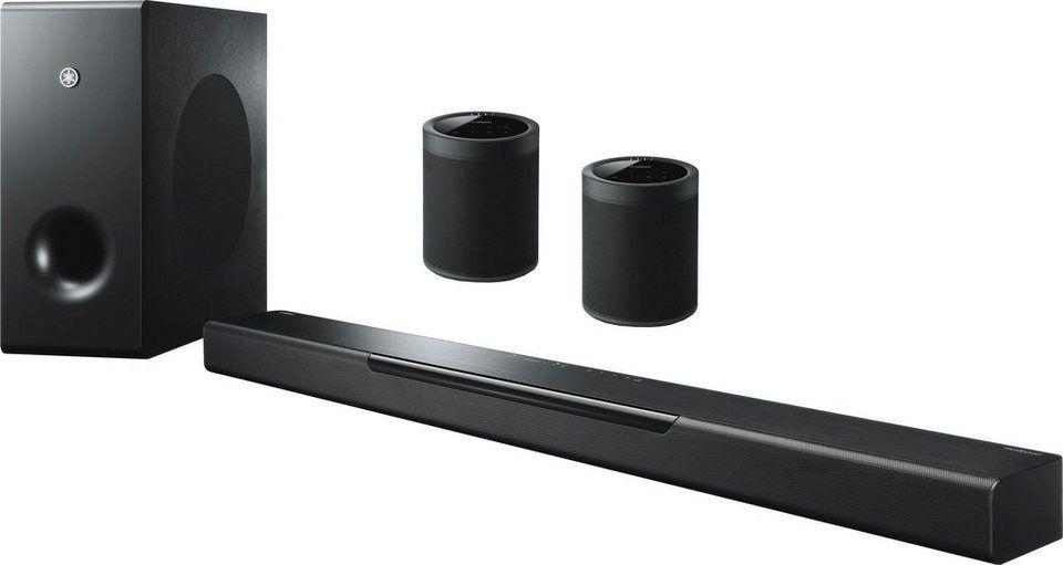 Yamaha Musiccast Bar 400 2 1 Soundbar Bluetooth Wlan Wifi 200 W 2 Lautsprecher Musiccast20 Online Kaufen Otto Wlan Bluetooth Lautsprecher
