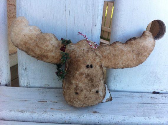Primitive moose ornie