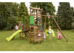 Marlow Bridge Climb N Slide Swing Set 900 Playhouses Play