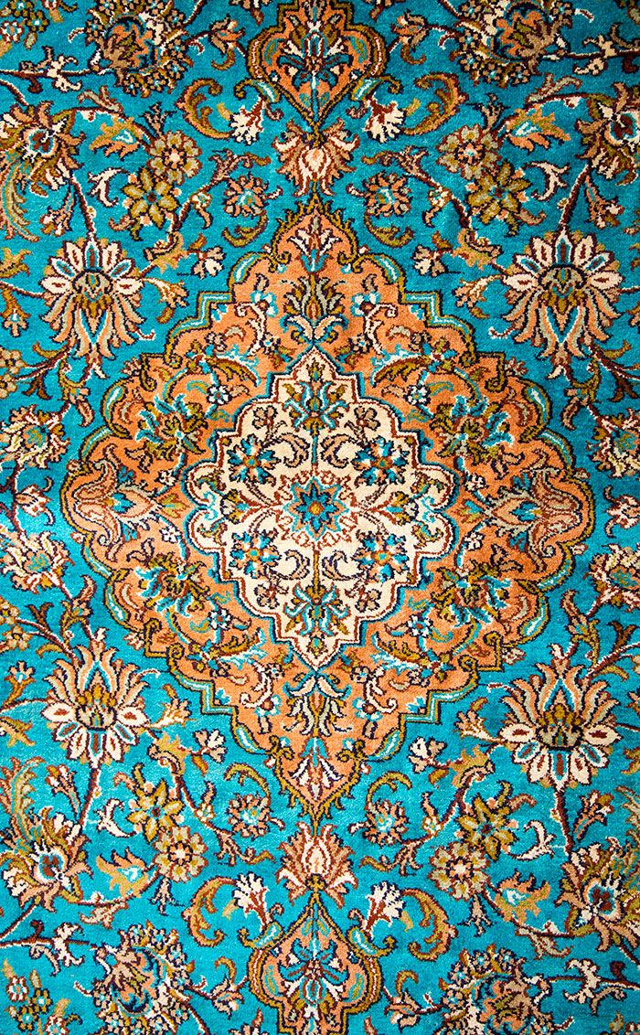Traditional Indian Rug Includes Pop