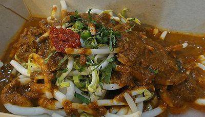 Laksa Terengganu Kuah Merah Terengganu Dishes Food