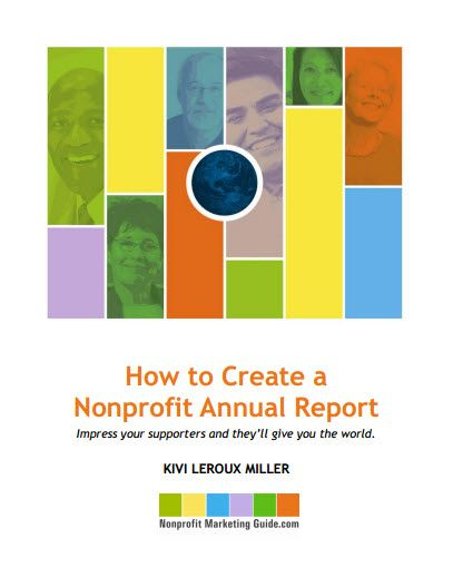 How To Create A Nonprofit Annual Report