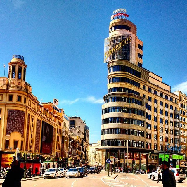 Gran Vía - Madrid, España
