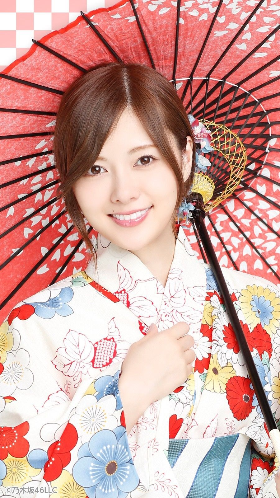 SHIRAISHI_mai 白石麻衣 浴衣