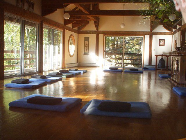 Silent retreat at providence zen center being healthy in - Yoga meditation room ideas ...