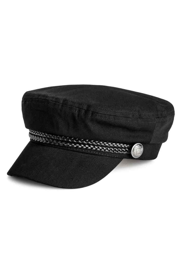 Gorra de marinero - Negro - MUJER  0741ddf84e1