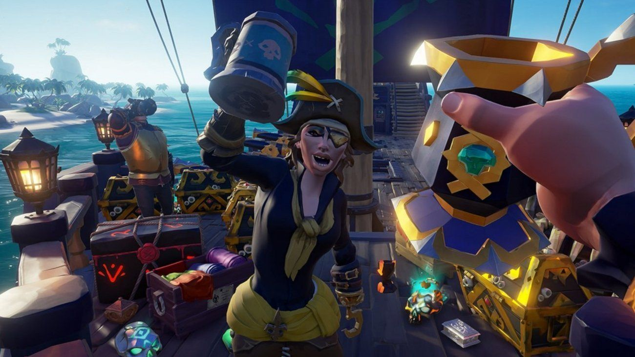 Rare Treasures The 10 Million Players Who Played Sea Of Thieves In