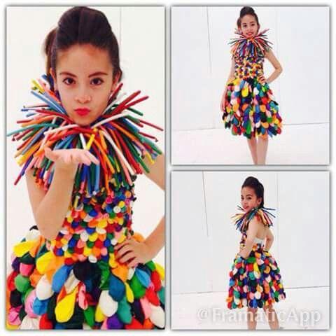 Disfraces hechos con materiales reciclados vestidos - Trajes de carnavales originales ...