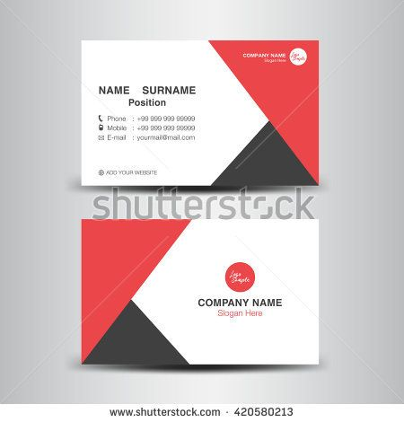 Red business card vector backgroundflyer designpolygon background red business card vector backgroundflyer designpolygon backgroundname card template fbccfo Choice Image