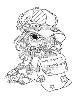 heather coloring pages - heather valentin 39 s rory 39 s christmas list available in