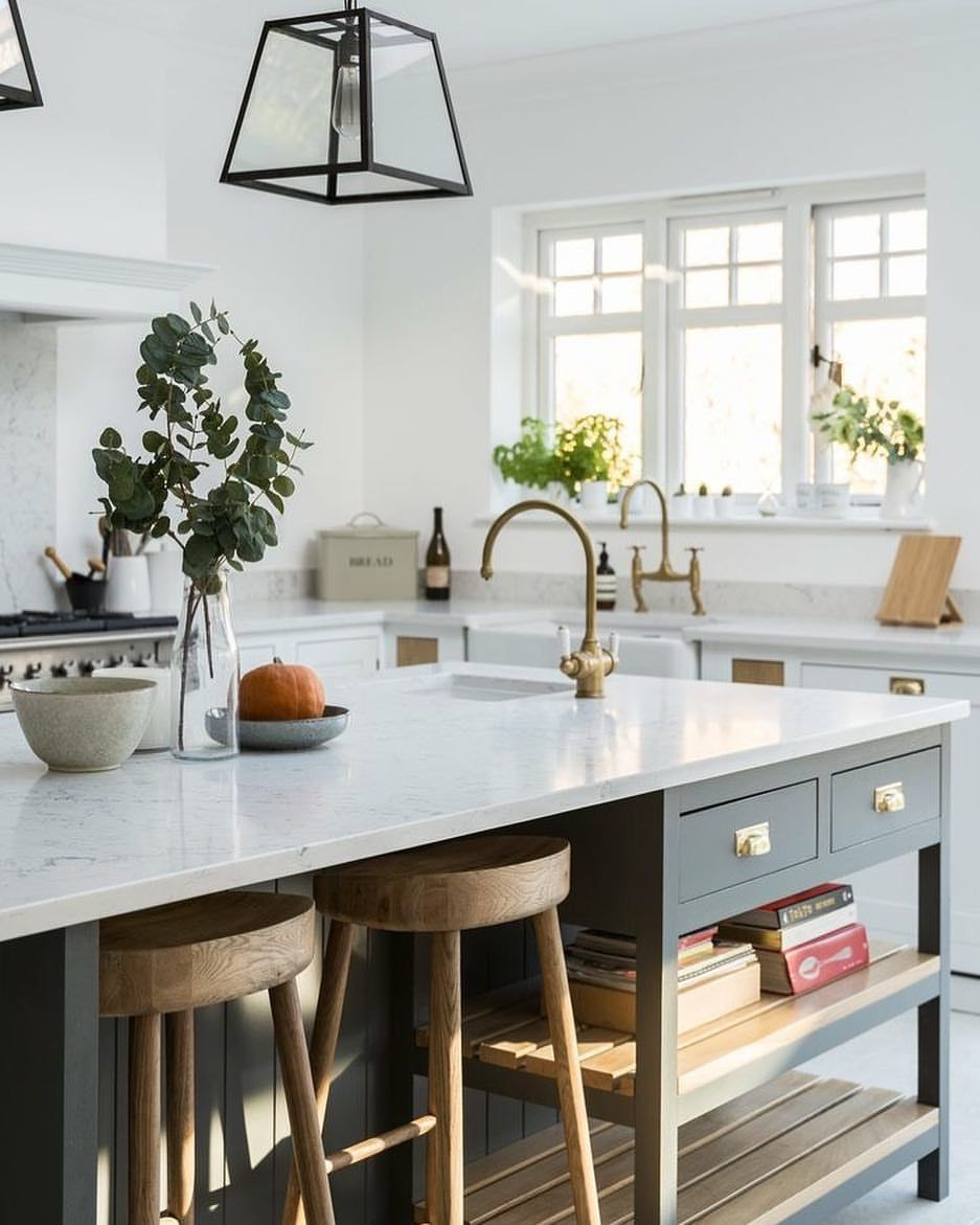 Kitchen Island Yes Or No: We Are Designing Kitchens Left And Right At The Moment
