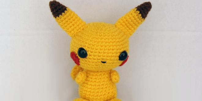 Patrón gratis amigurumi de Pikachu de Pokemon | Amigurumi patrones ... | 330x660