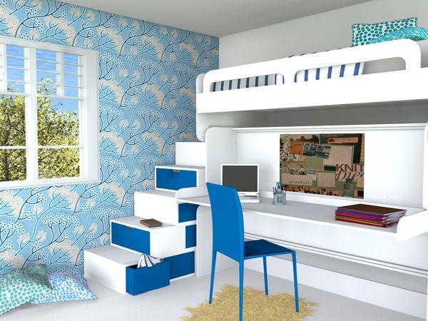 Hiddenbed Double Decker Retractable Bunk Bed | Wonderful Things ...
