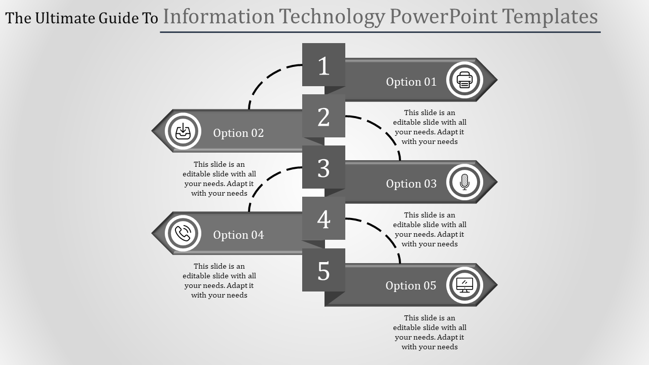 The Reality Of Information Technology PowerPoint Templates