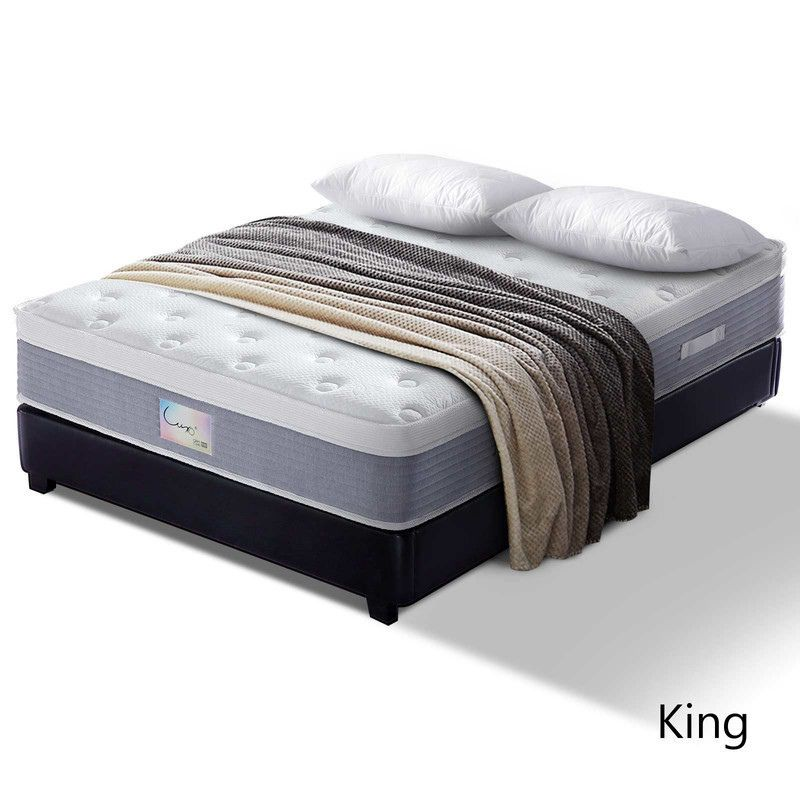 Luxo Maia 30cm Soft Gel Memory Foam Mattress King Mattress