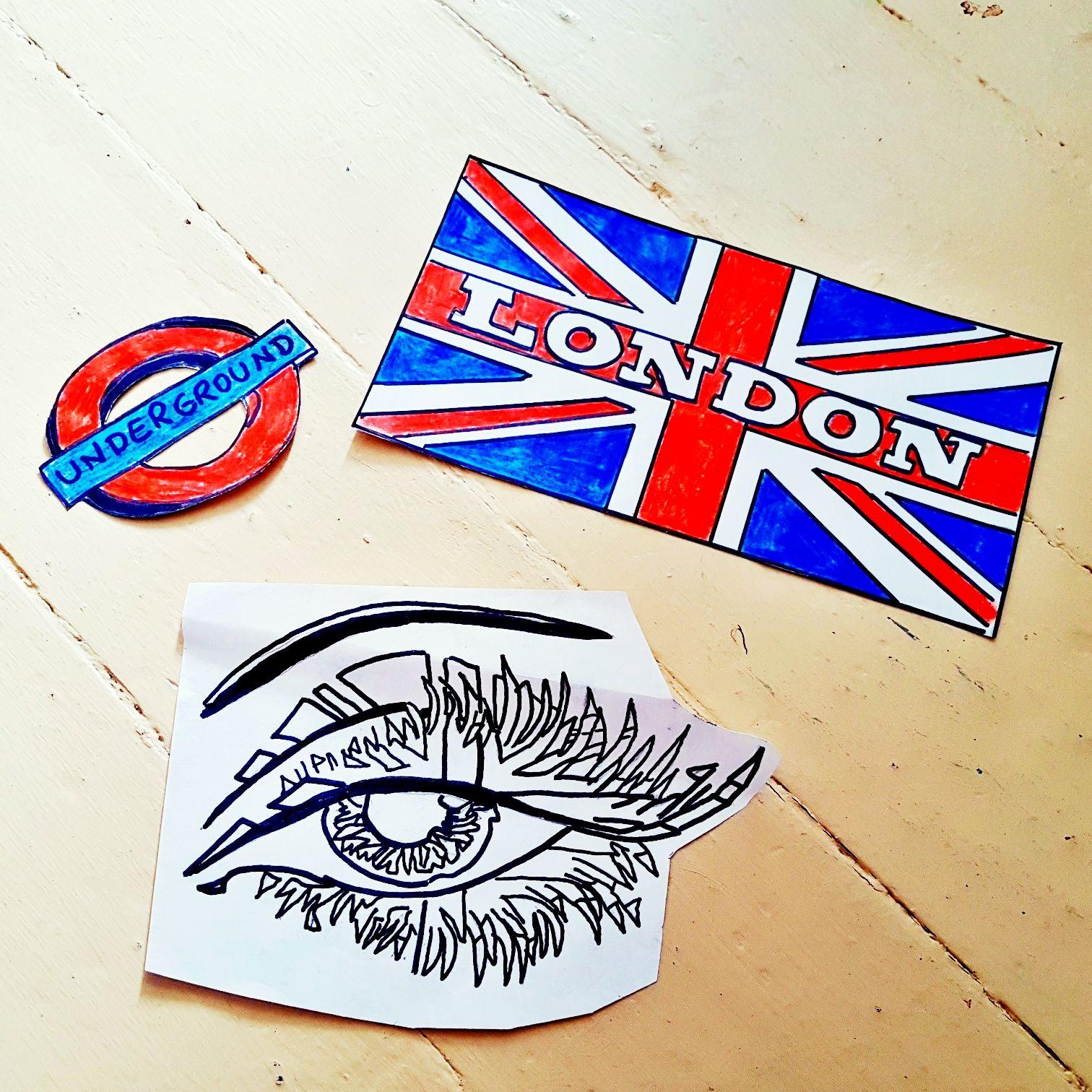 Wandtattoo London zum selbermachen