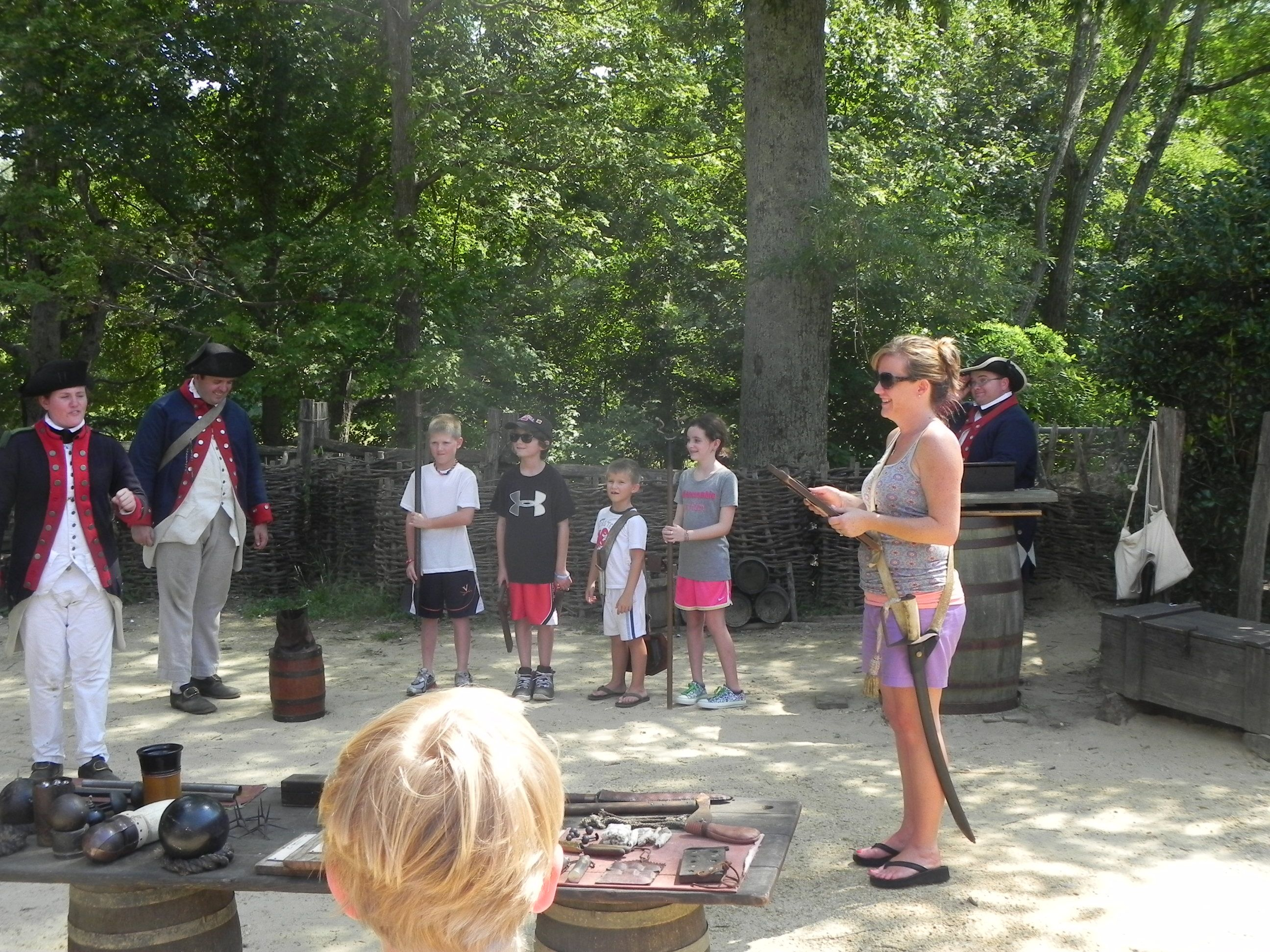 More Interpreters Join The Party As The Kids Learn About Firing The Cannon