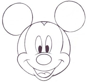25 Cool Things To Draw That Are Easy And Fun For Beginners Mickey Mouse Drawings Mouse Drawing Mouse Sketch