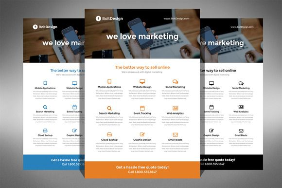 Check Out Corporate Flyer Template By Ultimatebundles On Creative